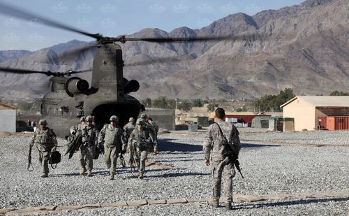 173rd 2-503 arrives in Afghanistan 17 Dec 2009 2