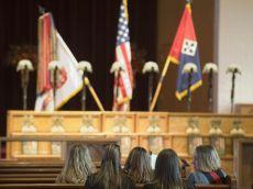 3-61 CAV Memorial to the eight Fallen Heroes of COP Keating
