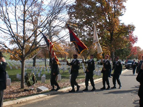 82nd Airborne Color Guard Arriving at 173rd Memorial