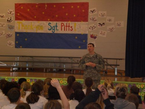 SSG Pitts answering questions 3