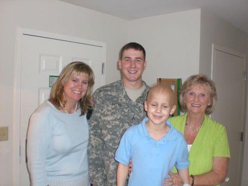 Rachel, Ryan, Evan and Nana 10 May 09