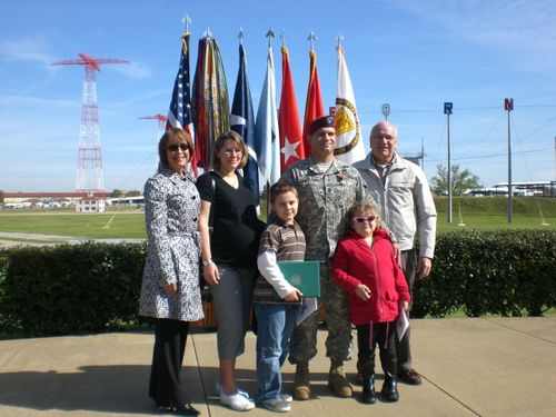 SFC David Dwzik and his family